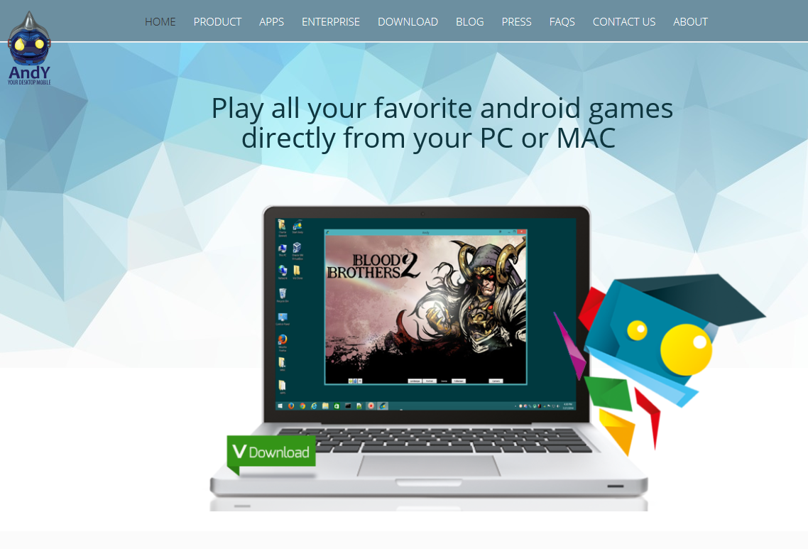 The Best Android Emulator For PC Mac Andy Android Emulator
