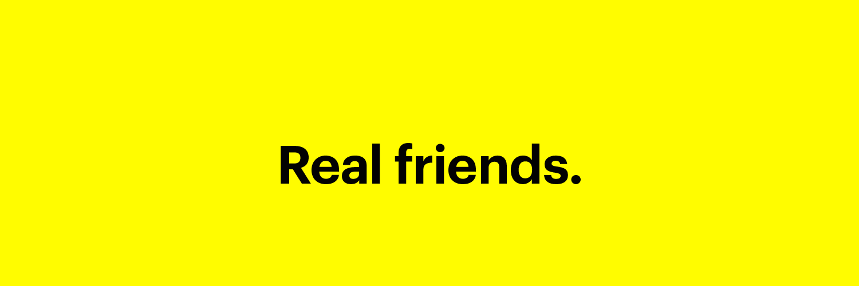 An app for #RealFriends